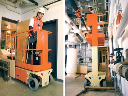 12 foot scissor lift hire adelaide